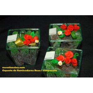 Roses i campaneta /( Lot 10 unitats )